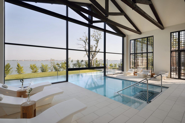 Le Goco Spa du Marriott piscine interne et externe